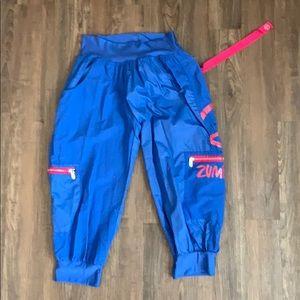 ZUMBA Cropped Cargo Pants